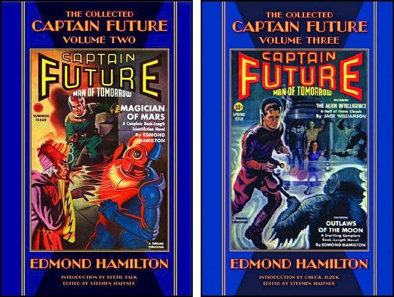 Captain Future Haffner Books