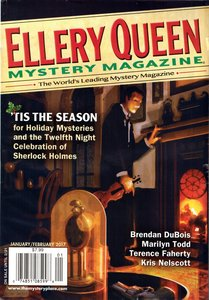 Ellery Queen Mystery Magazine January February 2017-rack