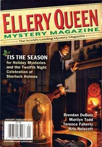 Ellery Queen Mystery Magazine January February 2017-rack