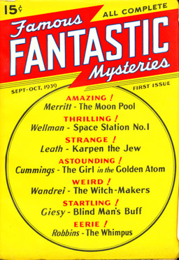 Famous Fantastic Mysteries, issue 1