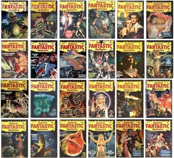 Famous Fantastic Mysteries lot 1