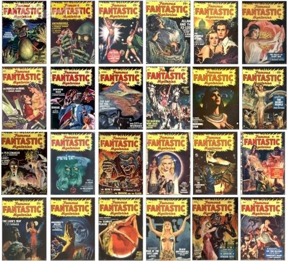 Famous Fantastic Mysteries lot 1