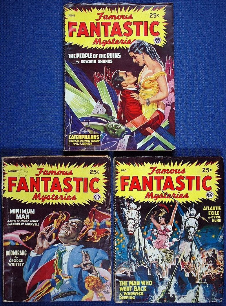 Famous Fantastic Mysteries lot 3-small