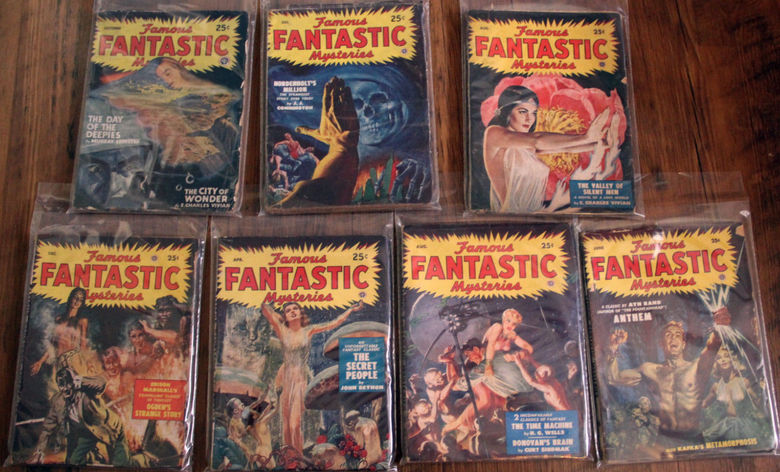 Famous Fantastic Mysteries lot-small