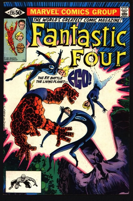 Fantastic Four Ego the Living Planet-small