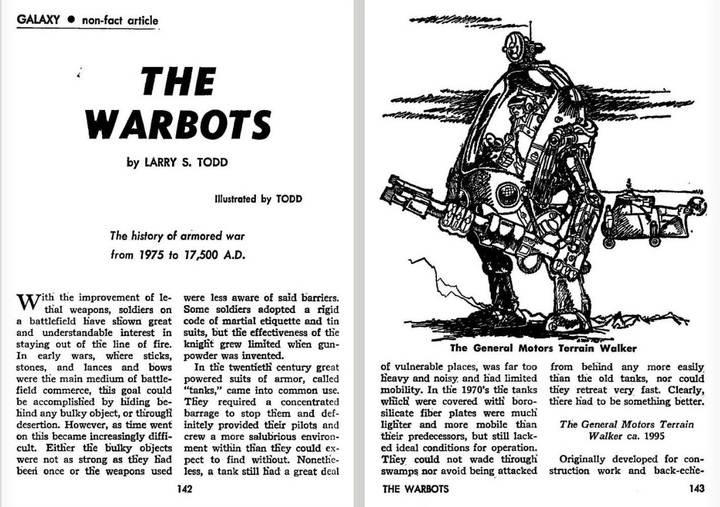 Galaxy October 1968 The Warbots-small