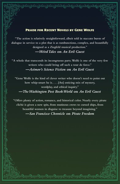 Gene Wolfe The Sorcerer's House-back-small