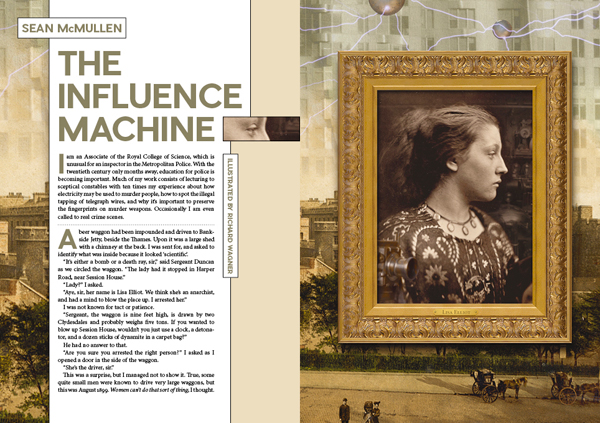 Interzone 269-The Influence Machine
