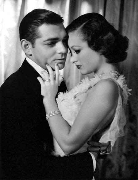 Joan Crawford ad Clark Gable-small