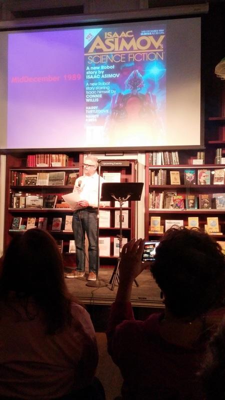 Reading at Asimov-small