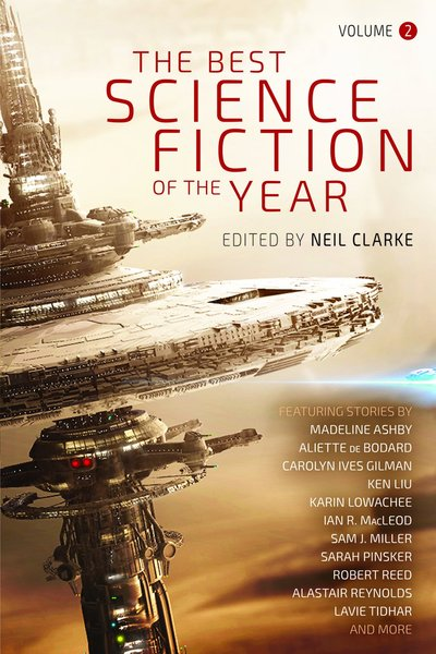 The Best Science Fiction of the Year Volume Two Neil Clarke-small