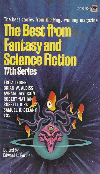 The Best from Fantasy and Science Fiction Seventeenth Series-small