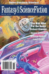 The Magazine of Fantasy and Science Fiction April May 2017-rack
