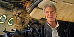 Force Awakens Han Solo Chewbacca