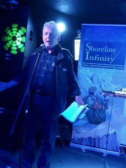 Ken McLeod at Shoreline of Infinity's Event Horizon
