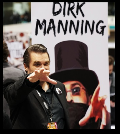 C2E2 2017 The enigmatic Dirk Manning