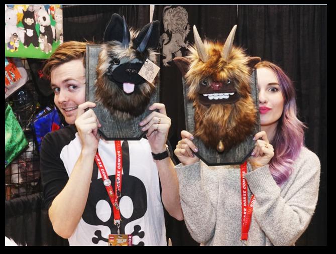 C2E2 2017 masks