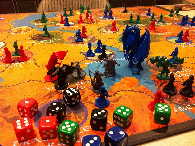Defenders of the Realm board 2