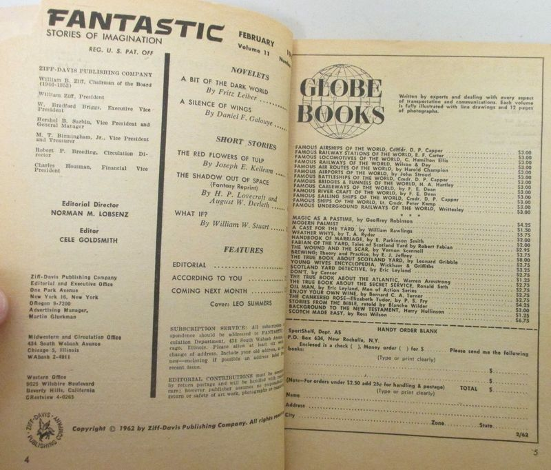 Fantastic February 1962-contents-small