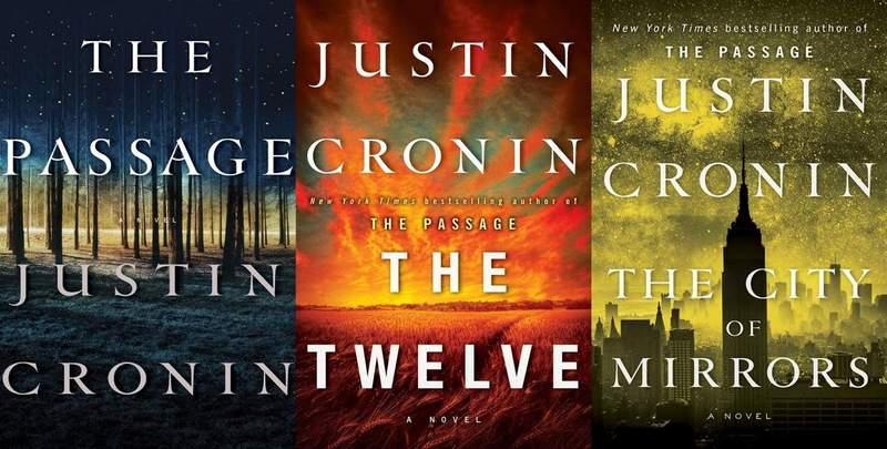 Justin Cronin The Passage trilogy-small