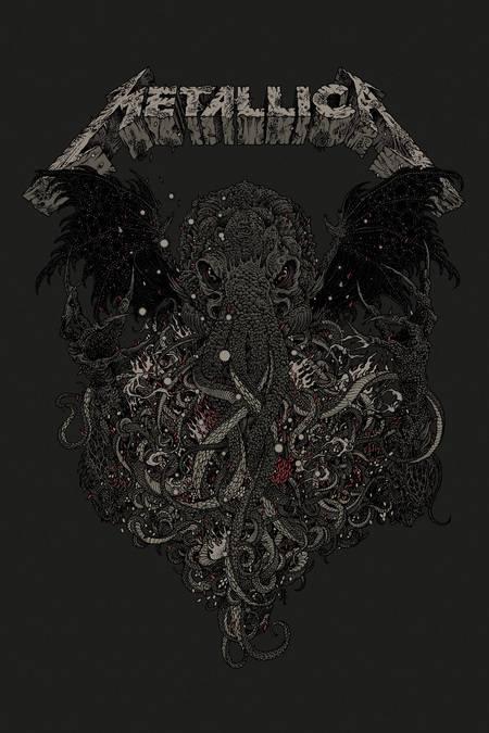 Metallica Ktulu by Richey Beckett-small