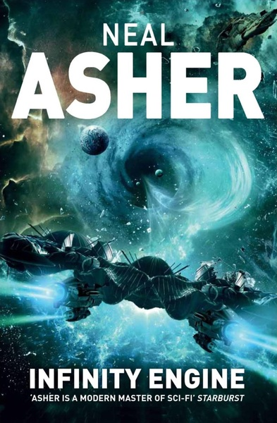 Neal Asher Infinity Engine UK-small
