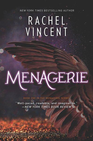 Rachel Vincent Menagerie-small