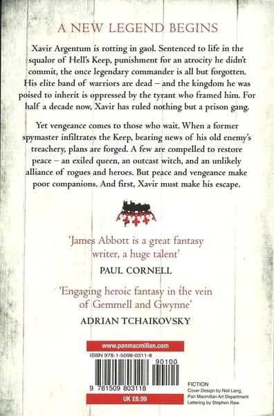 The Never King James Abbott-back-small