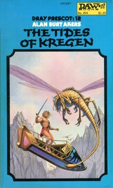 The Tides of Kregen by Alan Burt Akers-small