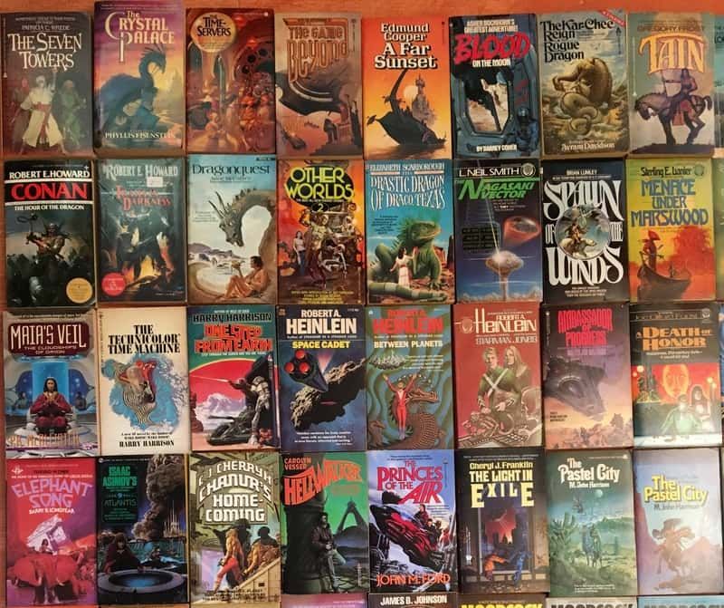 Windy City Pulp and Paper 2017 Science Fiction Paperbacks 1-small