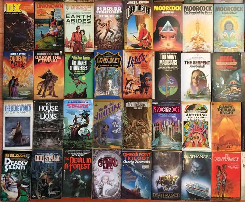Windy City Pulp and Paper 2017 Science Fiction Paperbacks 2-small