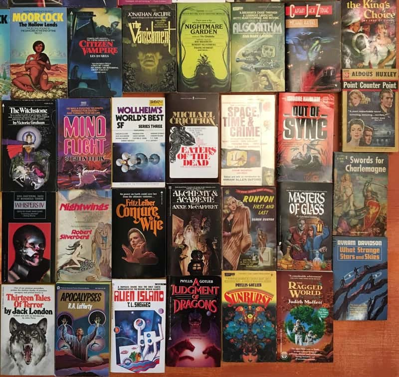 Windy City Pulp and Paper 2017 Science Fiction Paperbacks 3-small