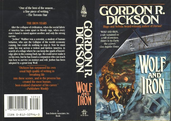 Wolf and Iron Gordon R Dickson wrap