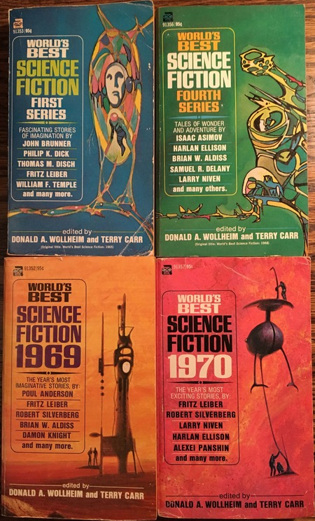 Ace Best Science Fiction of the Year 1965 1970-small