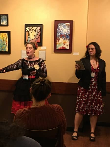 CSE Cooney and Amal El-Mohtar reading at Wiscon 2017 4-small