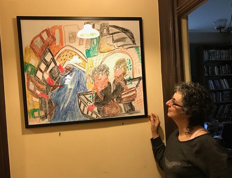 Ellen Kushner and Delia Sherman n Venice by Jessica Bigi