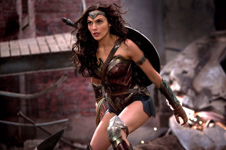 Gal Gadot in action as Wonder Woman 2-small