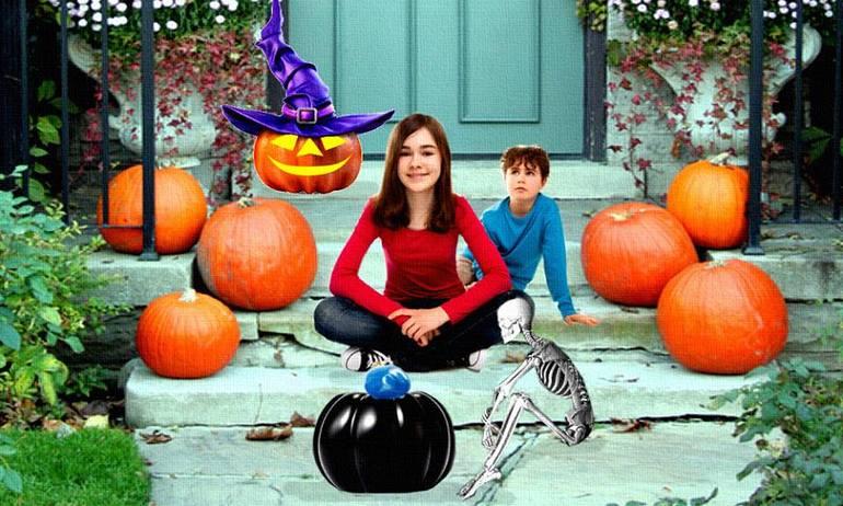 JACK, NIKKI and PUMPKIN - Three Ghosts in a Black Pumpkin-small