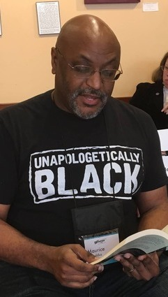Maurice Broaddus at Wiscon 2017-small