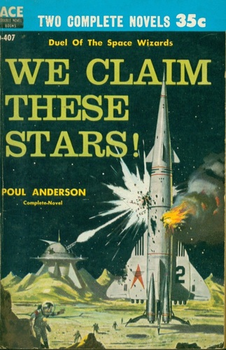Poul Anderson We Claim These Stars Ace Double-small