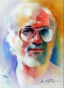 Robert Weinberg watercolor