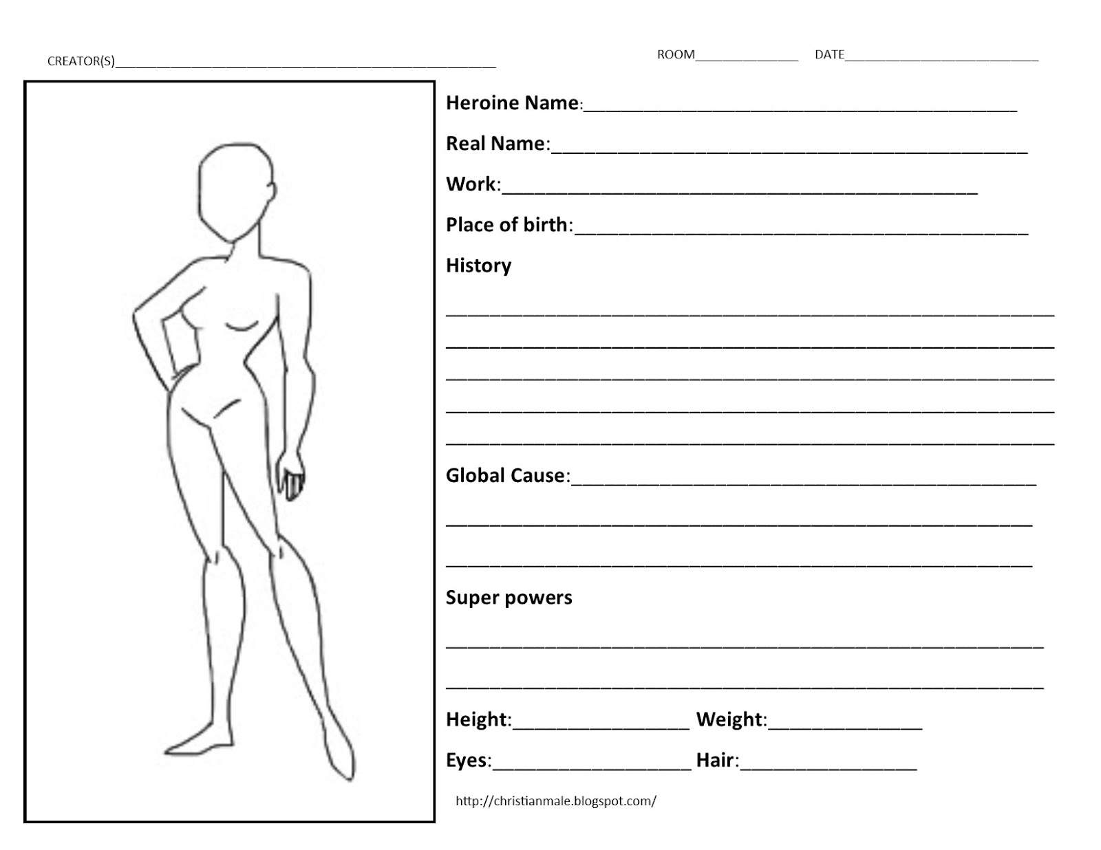 Worksheets Character Profile Worksheet character profile sheet etame mibawa co sheet