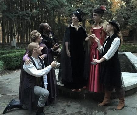 Swordspoint characters in costume