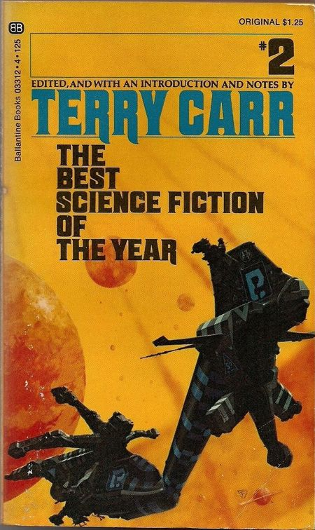 Terry Carr The Best Science Fiction of the Year 2-small