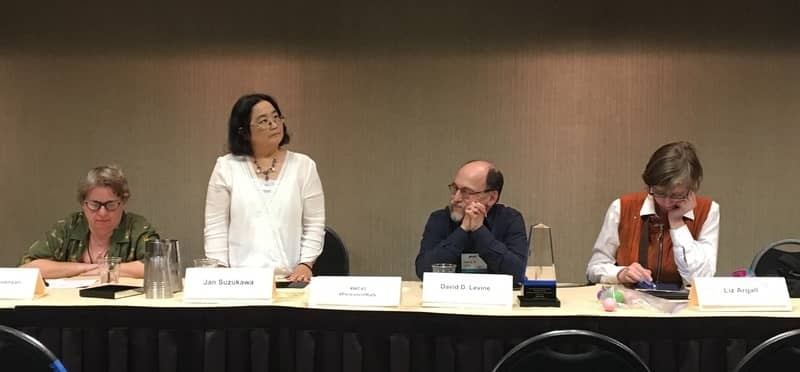 The Persistent Rats Liz Argall, David D. Levine, Jennifer Stevenson, Jan Suzukawa at Wiscon 2017-small