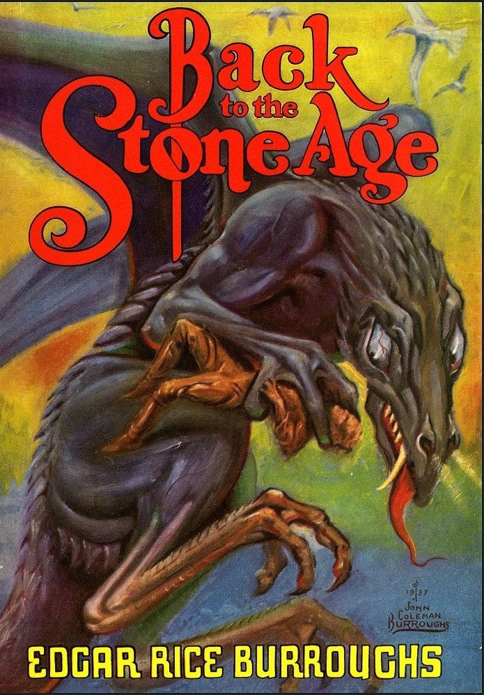 back-to-stone-age-first-edition-cover-john-coleman-burroughs