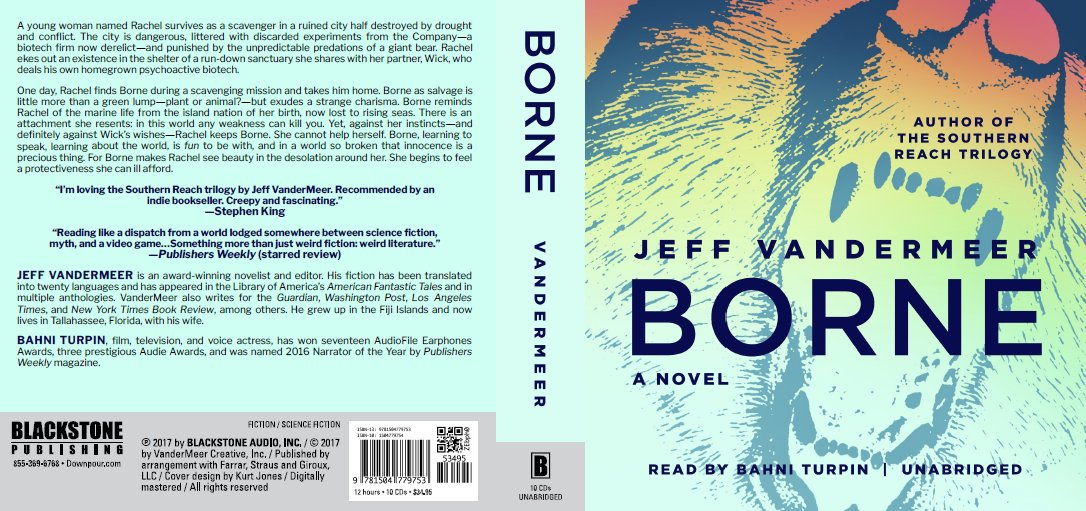 Borne Jeff VanderMeer CD