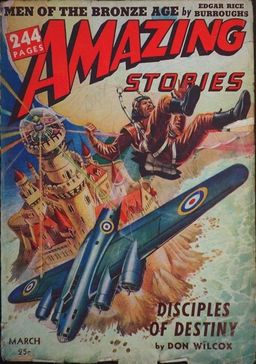 March 1942 Amazing Stories, containing