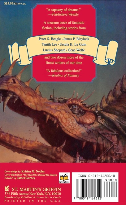 Modern Classics of Fantasy-back-small