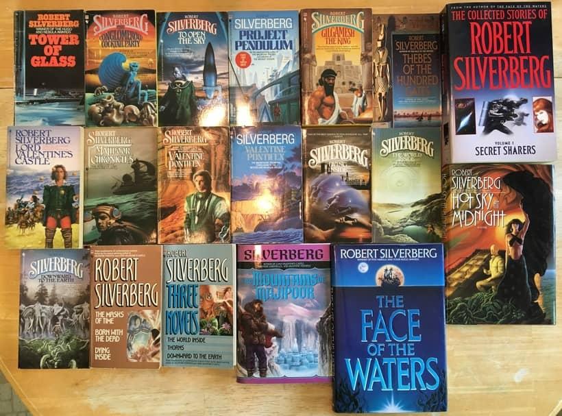 Robert Silverberg Bantam paperbacks-small